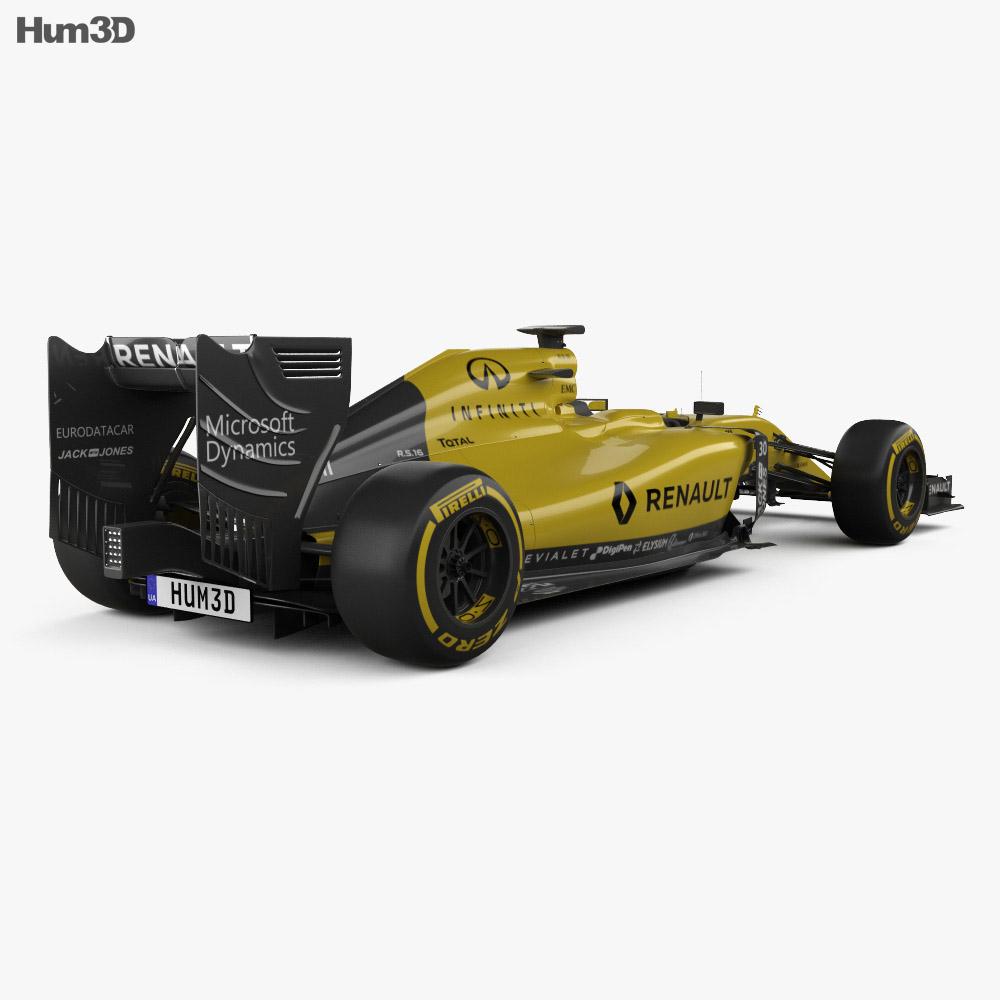 Renault R.S.16 2016 3d model