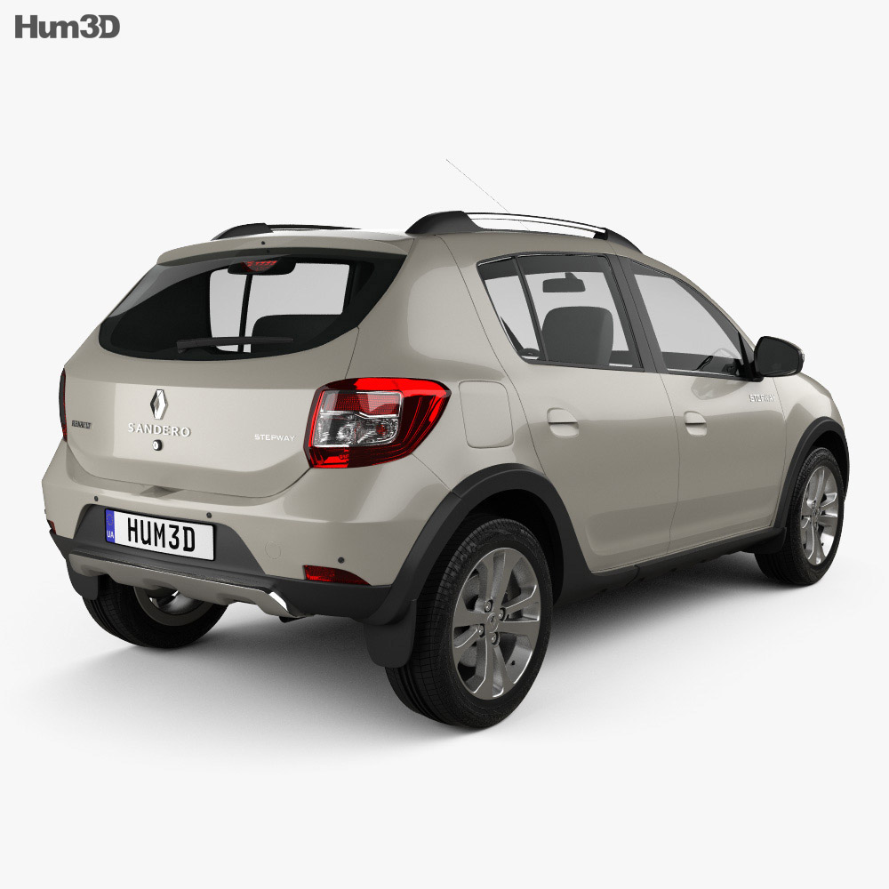 Renault Sandero Stepway 2014 3d model