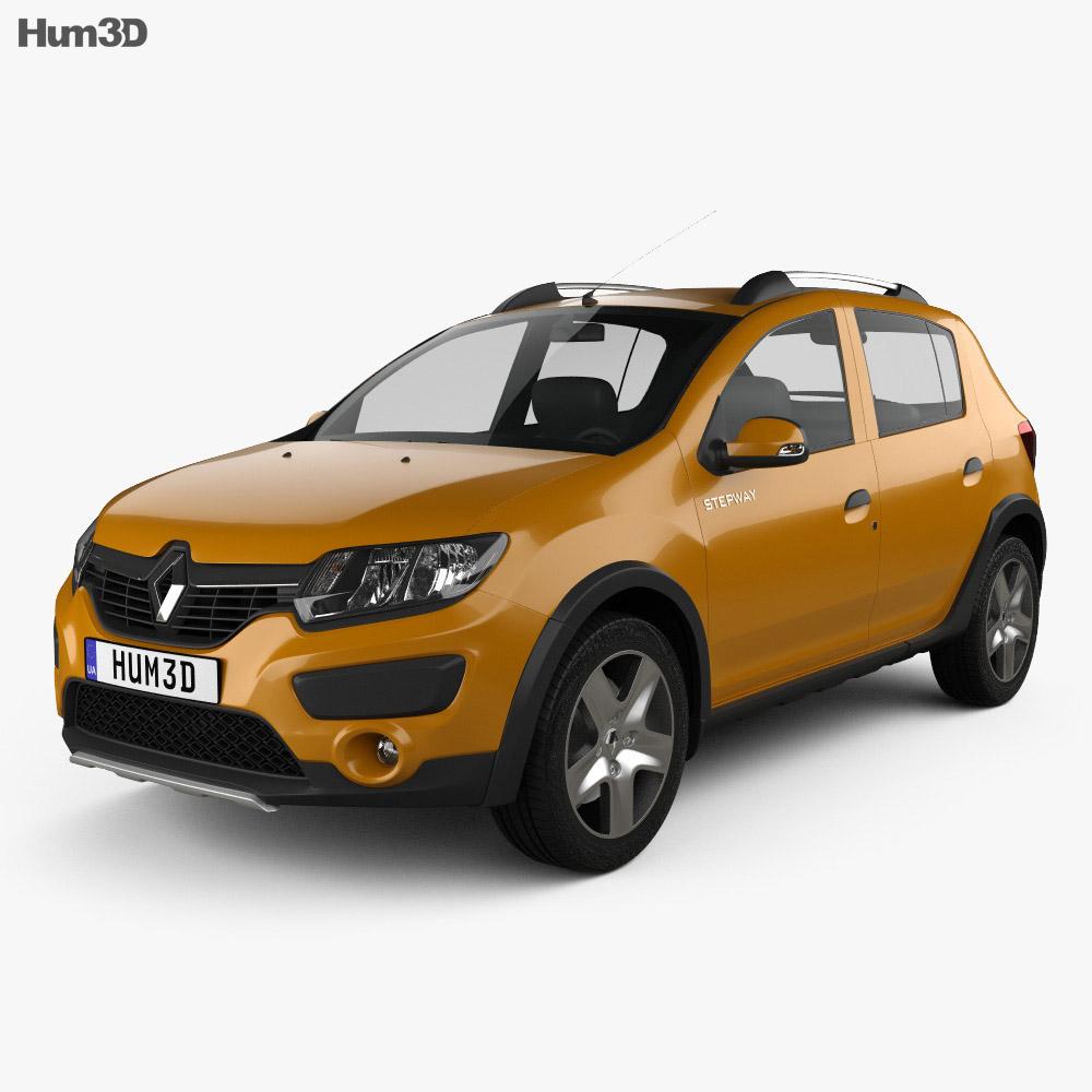Renault Sandero Stepway (BR/RU) 2014 3d model