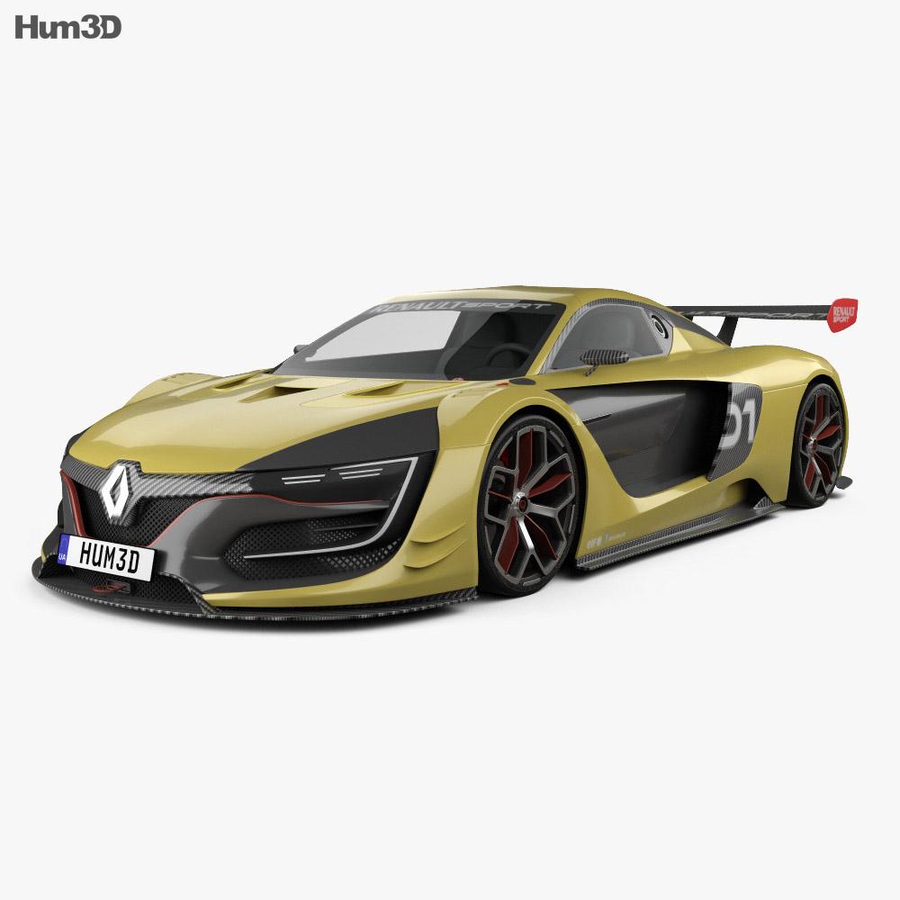 Renault Sport: Renault Sport R.S. 01 2015 3D Model