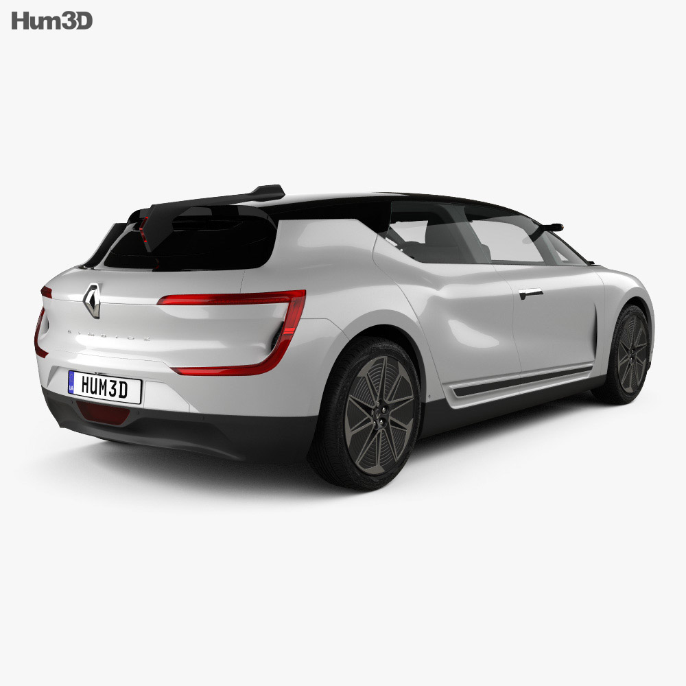 Renault Symbioz 2 concept 2017 3d model