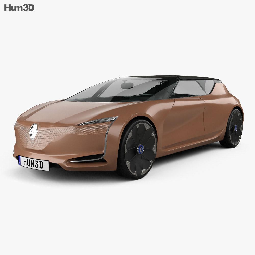 renault symbioz concept 2017 3d model hum3d. Black Bedroom Furniture Sets. Home Design Ideas