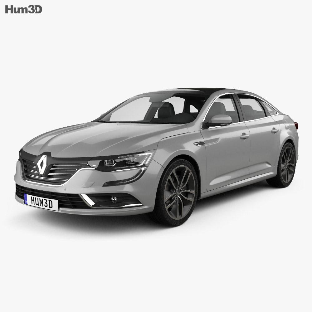 renault talisman 2016 3d model vehicles on hum3d. Black Bedroom Furniture Sets. Home Design Ideas