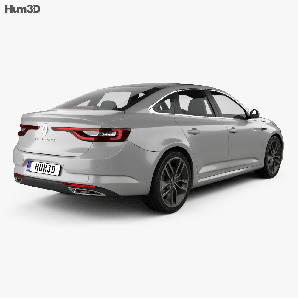 Discount Car Parts >> Renault Talisman 2016 3D model - Hum3D