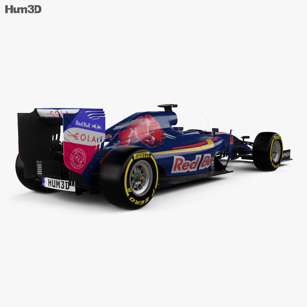 Renault Toro Rosso STR11 2016 3d model