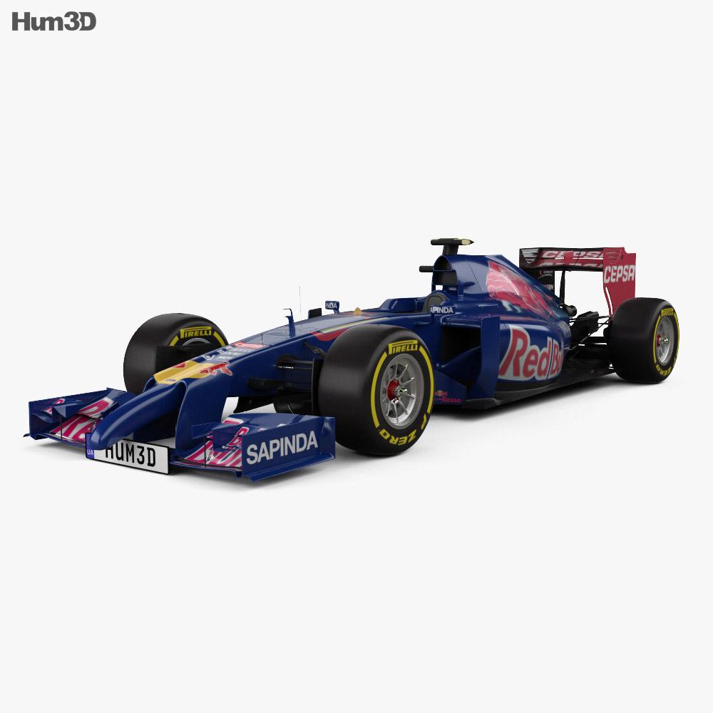 Toro Rosso STR9 2014 3d model