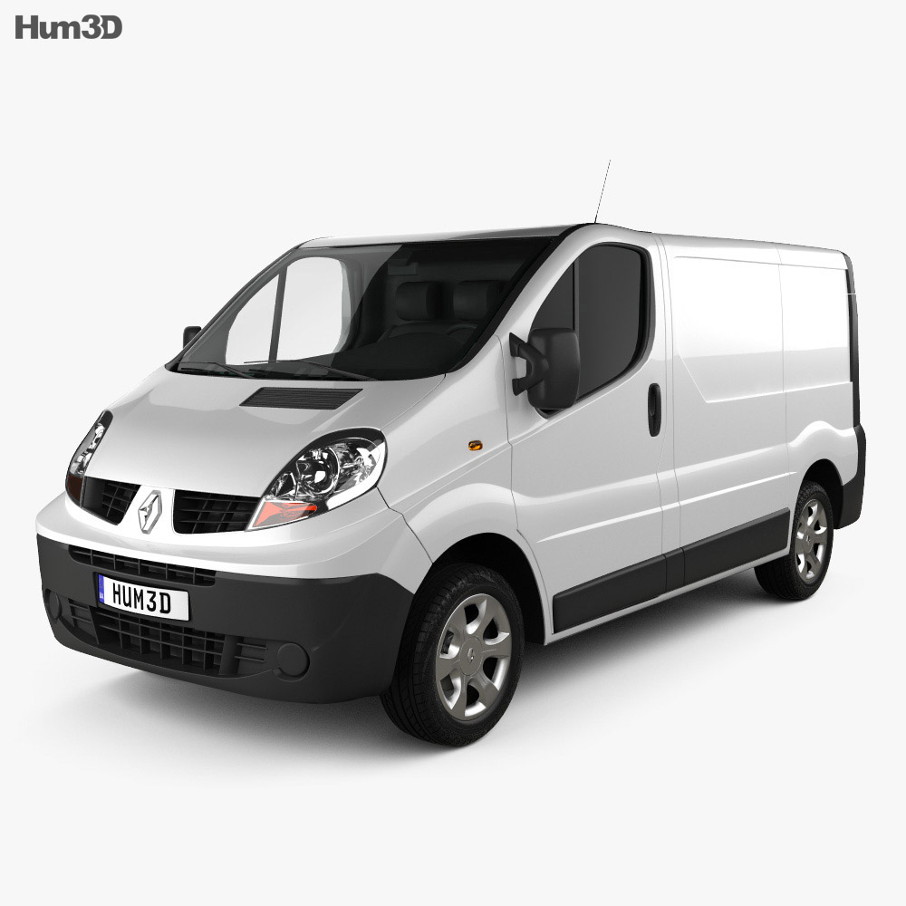 Renault Trafic Panel Van ShortWheelbase StandardRoof 2011 3d model