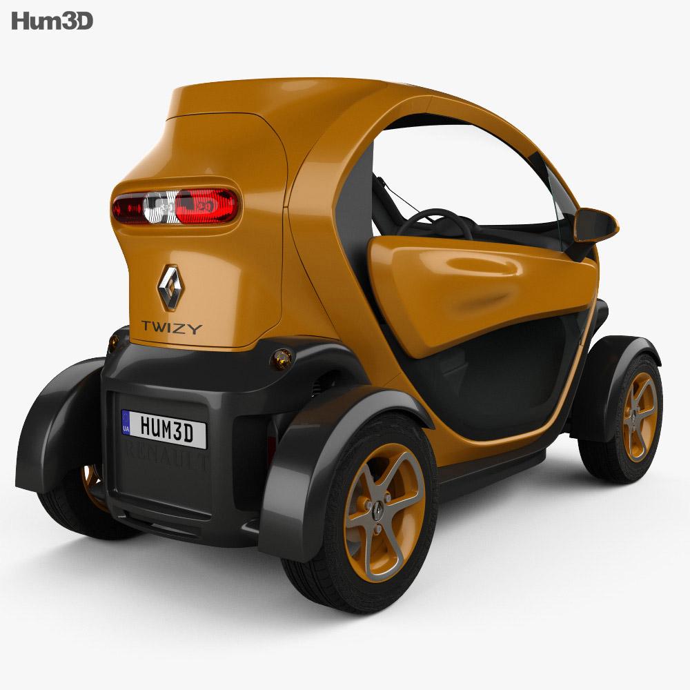 Renault Twizy ZE Cargo 2013 3d model