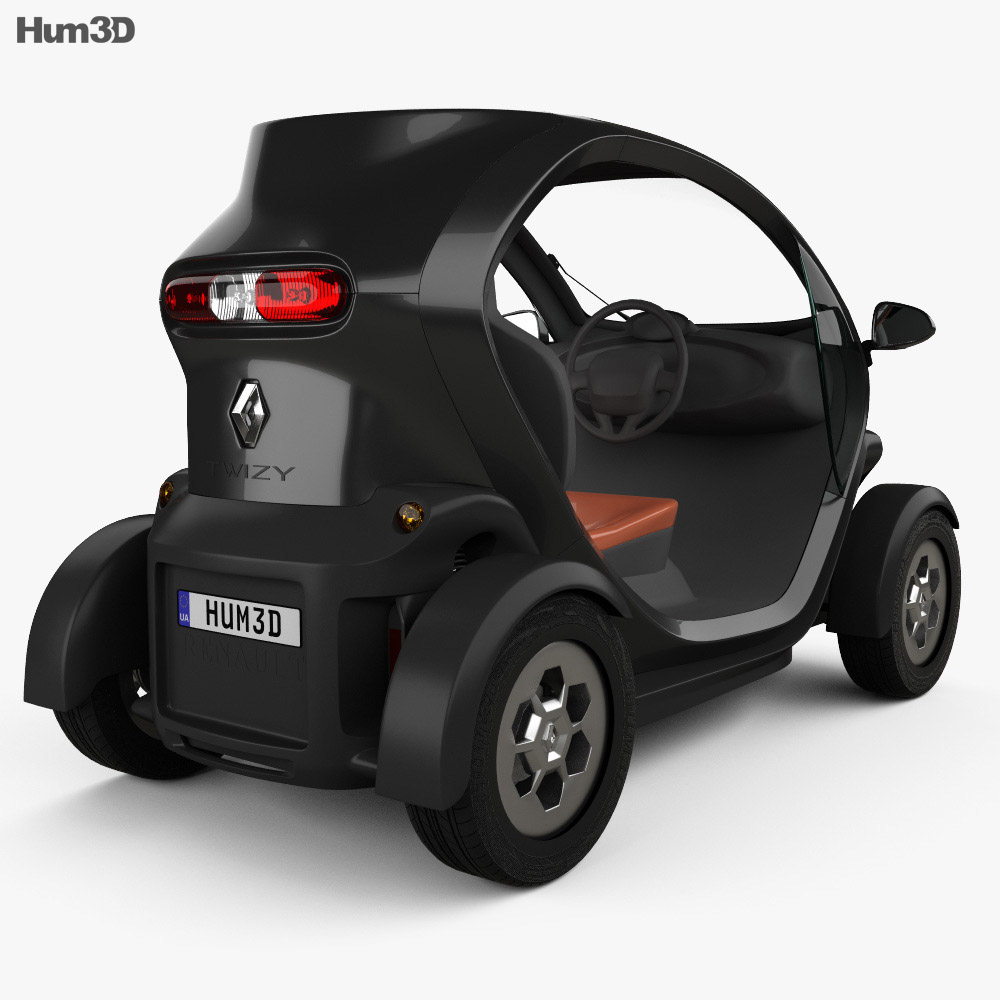 Renault Twizy ZE Expression 2012 3d model