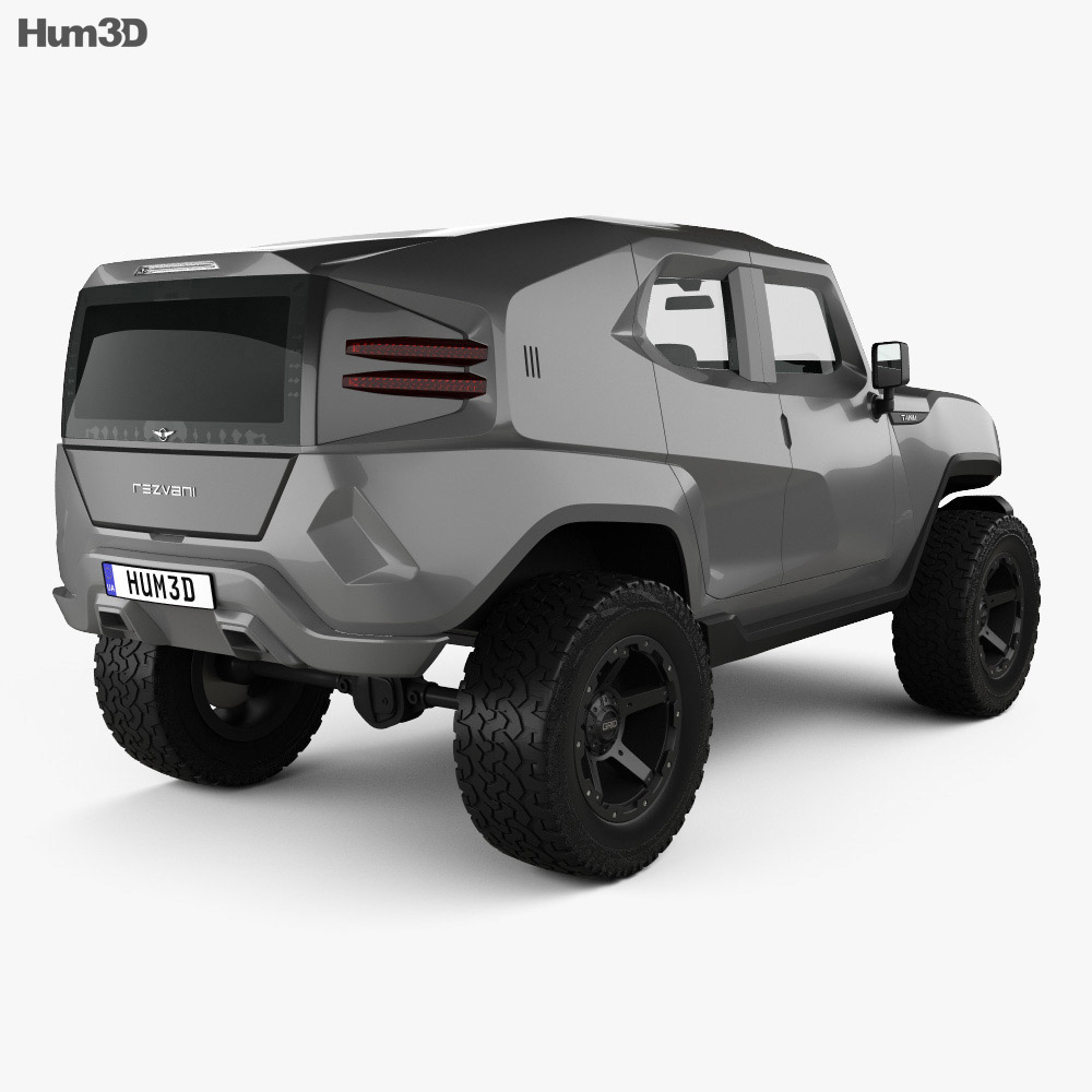 Rezvani Motors Tank 2017 3d model