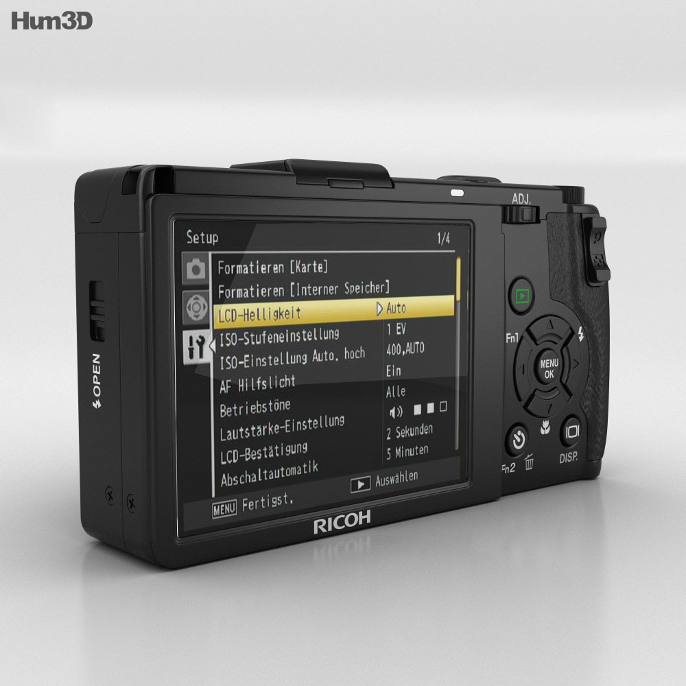 Ricoh GR DIGITAL III 3d model
