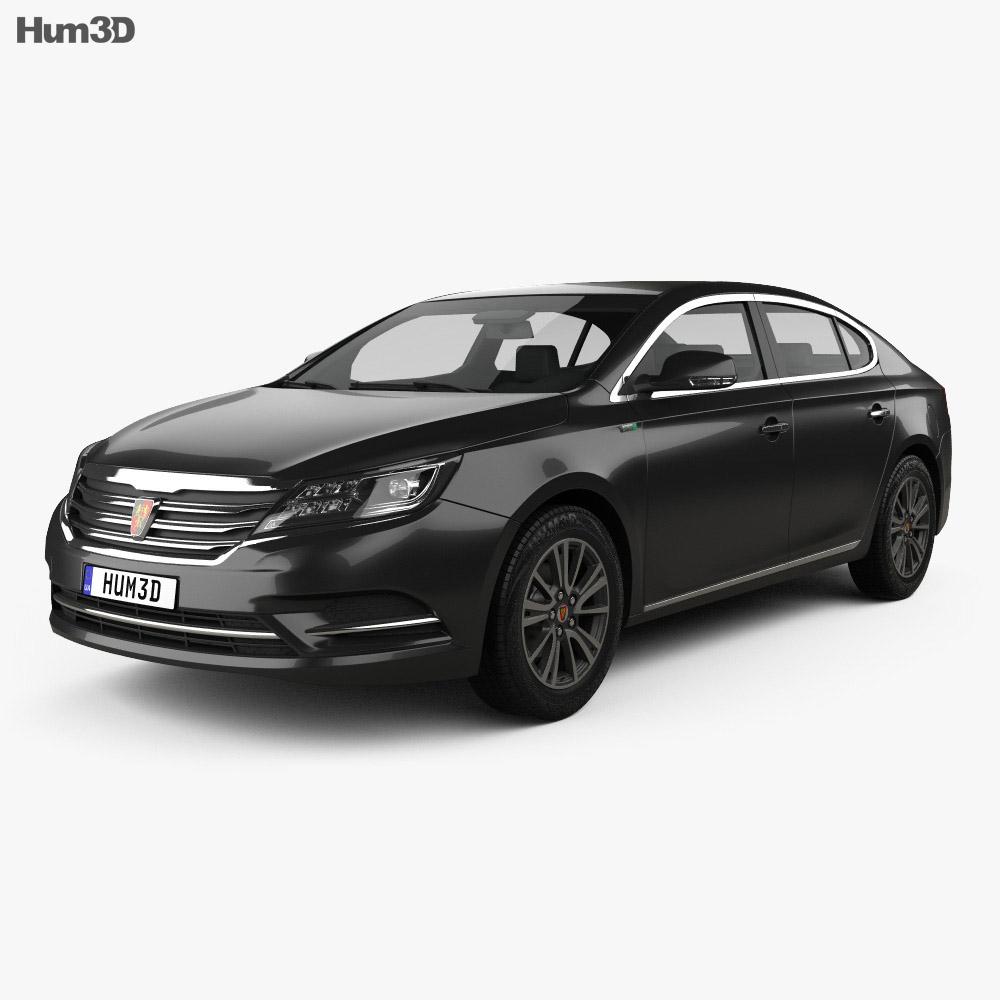 Roewe E950 2016 3d model