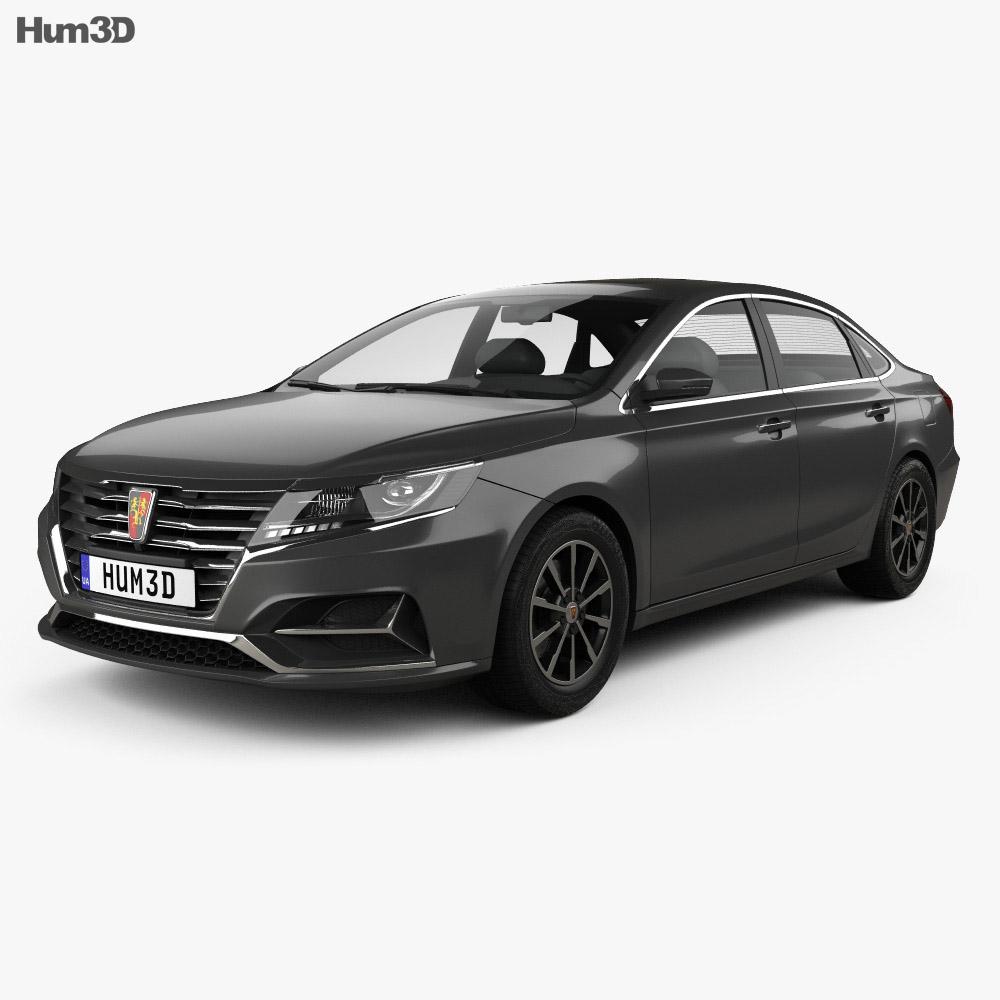 Roewe ei6 2017 3d model