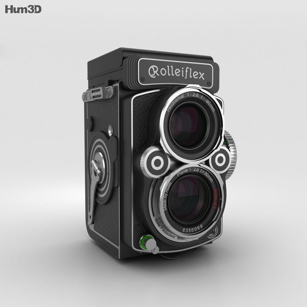 Rolleiflex 2.8 FX 3d model