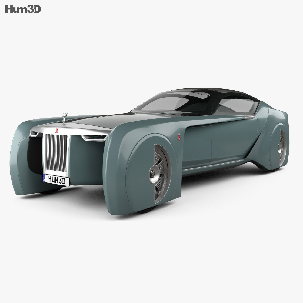 Rolls-Royce 103EX Vision Next 100 2016 3d model