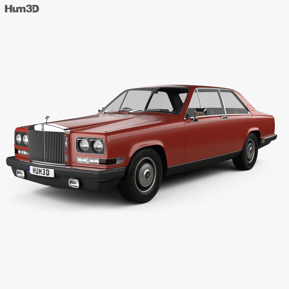 Rolls-Royce Camargue 1975 3d model