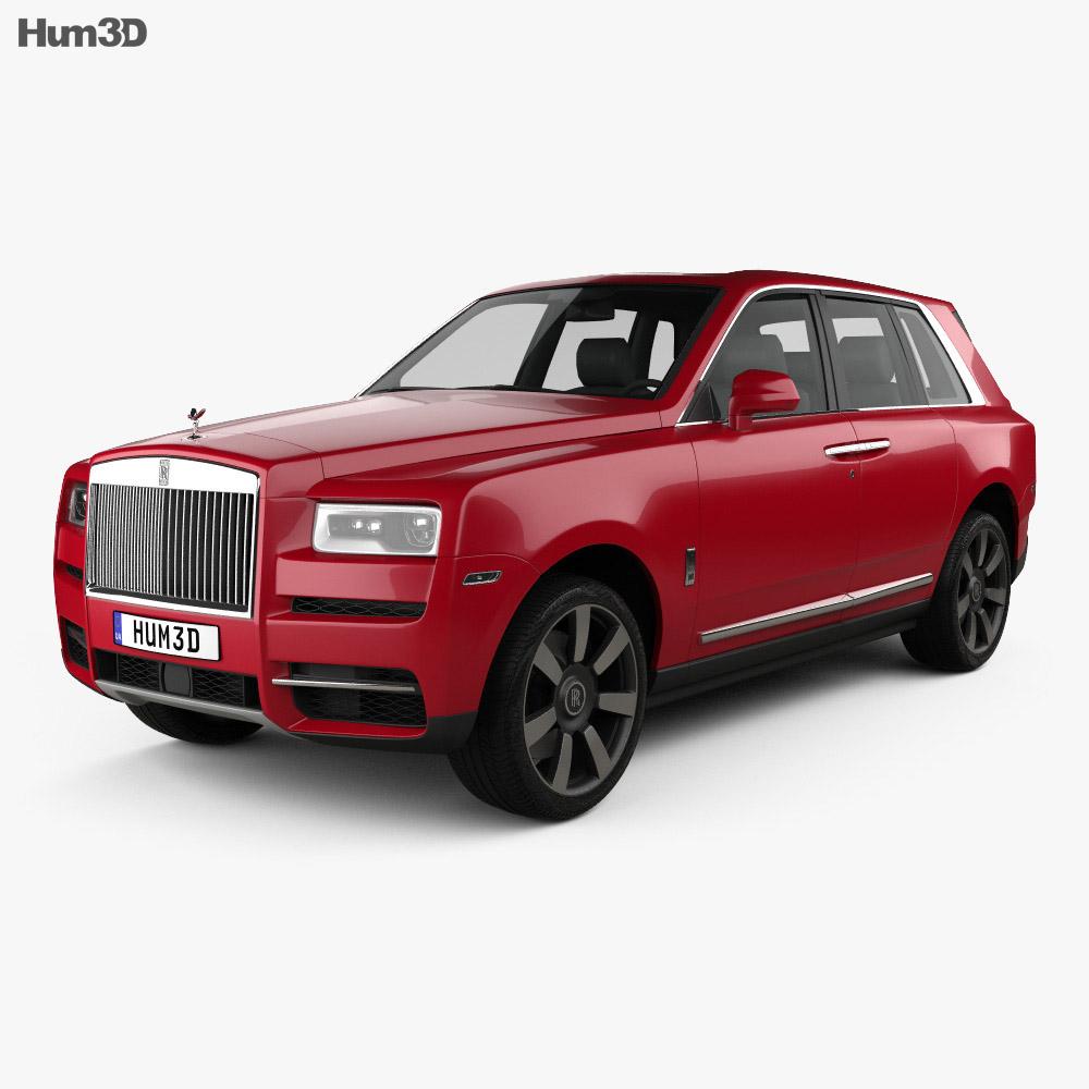Rolls-Royce Cullinan 2019 3D Model