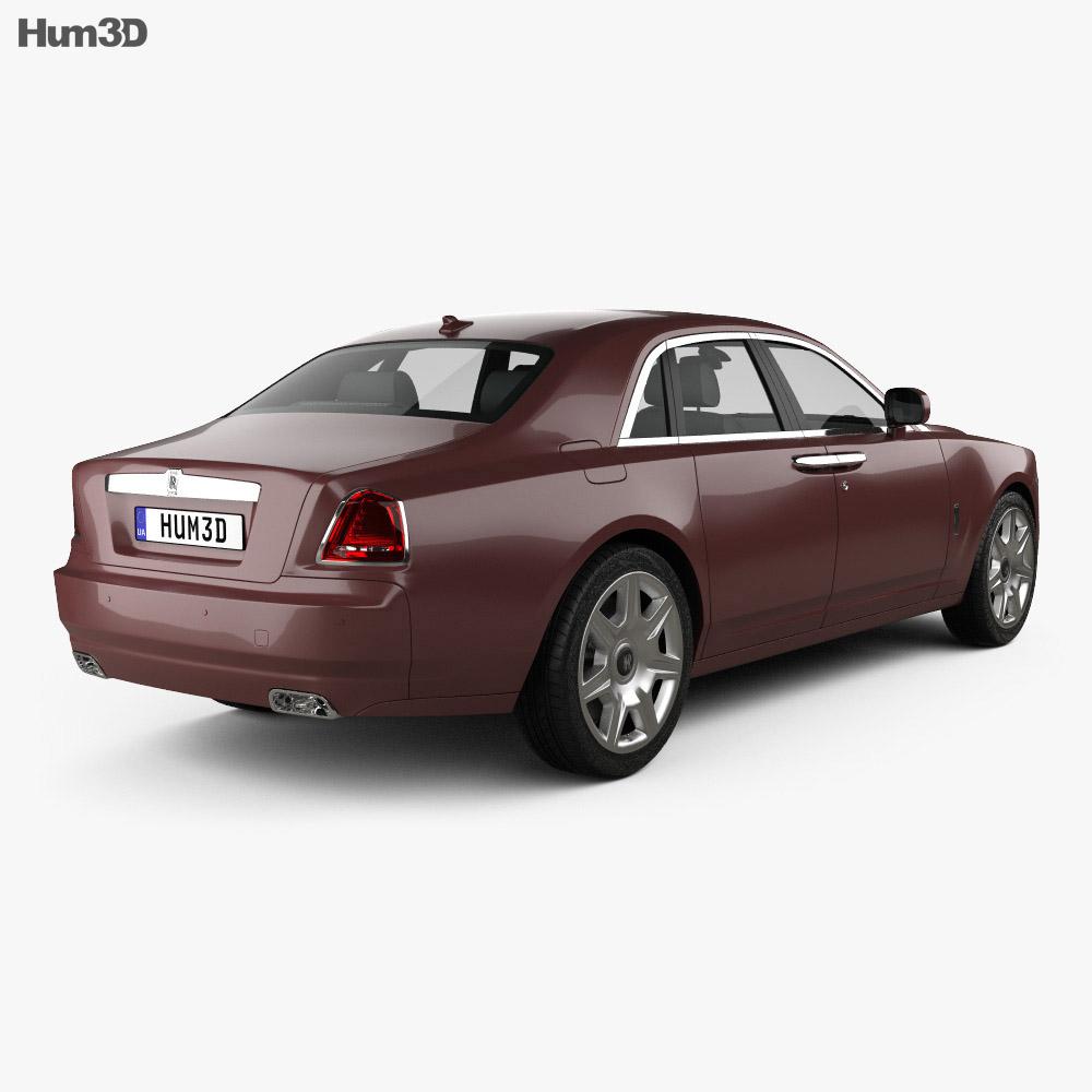 Rolls-Royce Ghost 2011 3d model