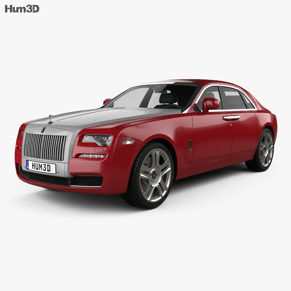 Rolls-Royce Ghost 2014 3d model