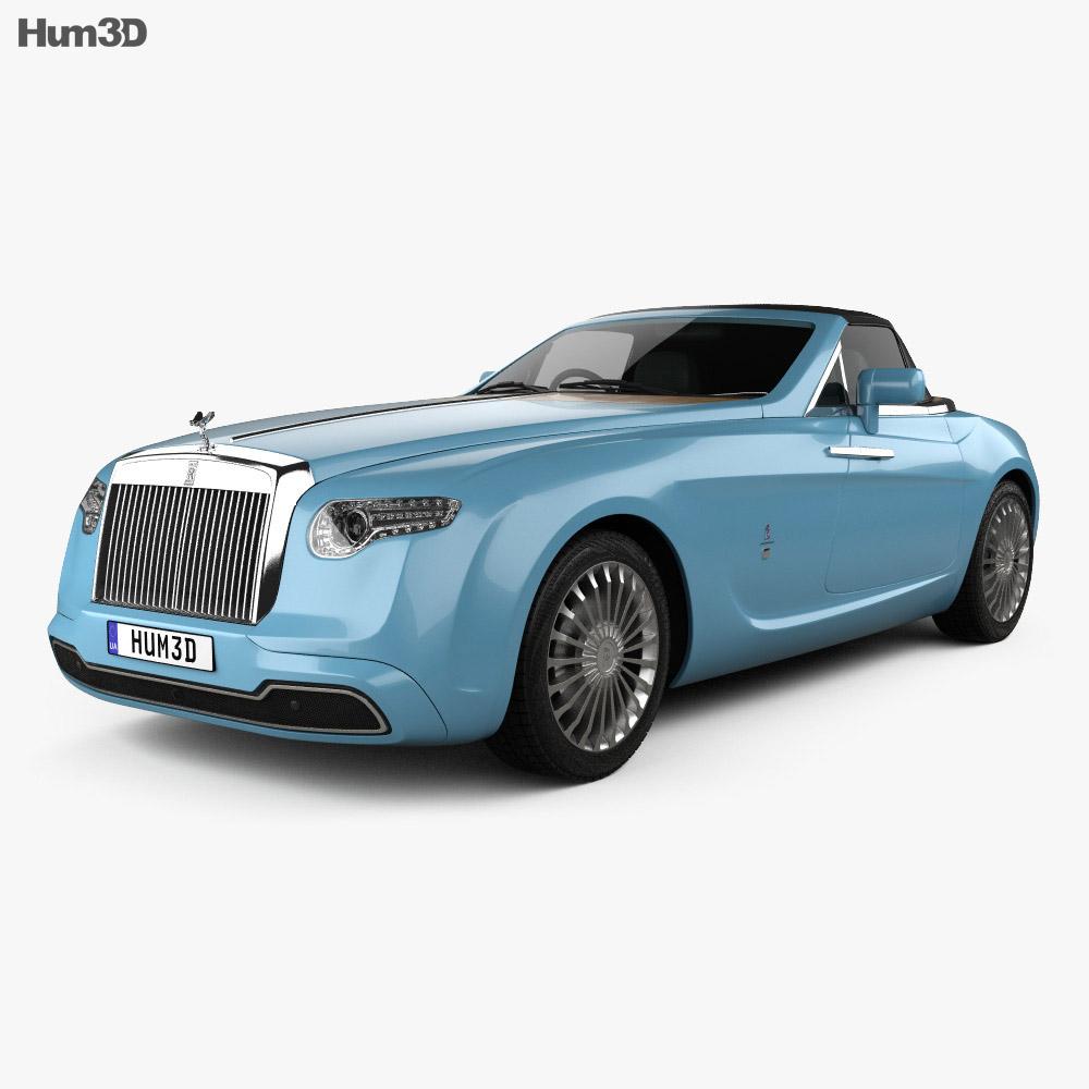 Rolls-Royce Hyperion 2008 3d model