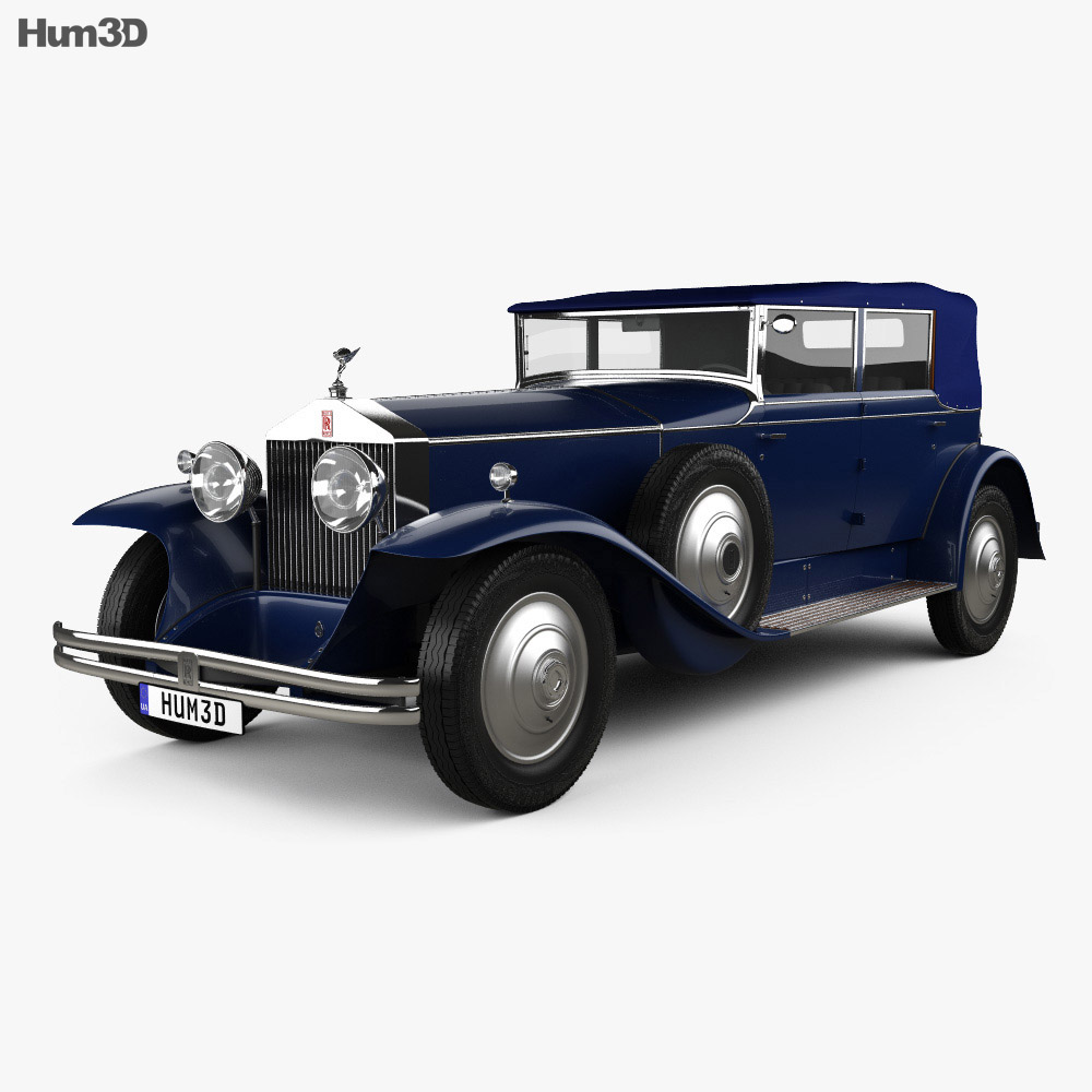 Rolls-Royce Phantom I 1929 3d model
