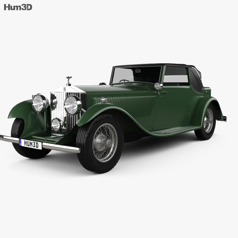 Rolls-Royce Phantom II Continental 1933 3d model