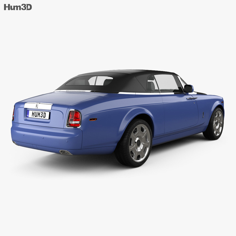 Rolls-Royce Phantom Drophead Coupe 2008 3d model