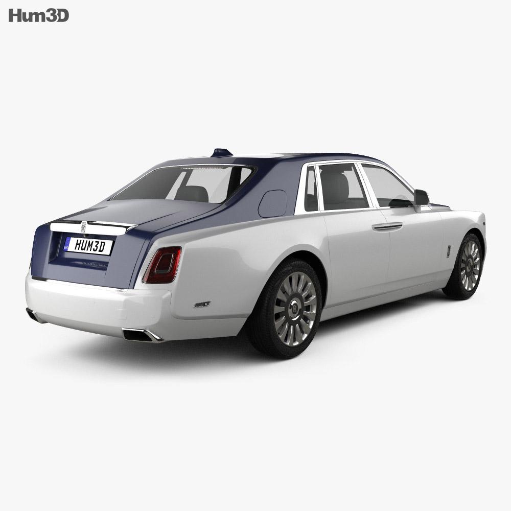 Rolls-Royce Phantom 2018 3d model