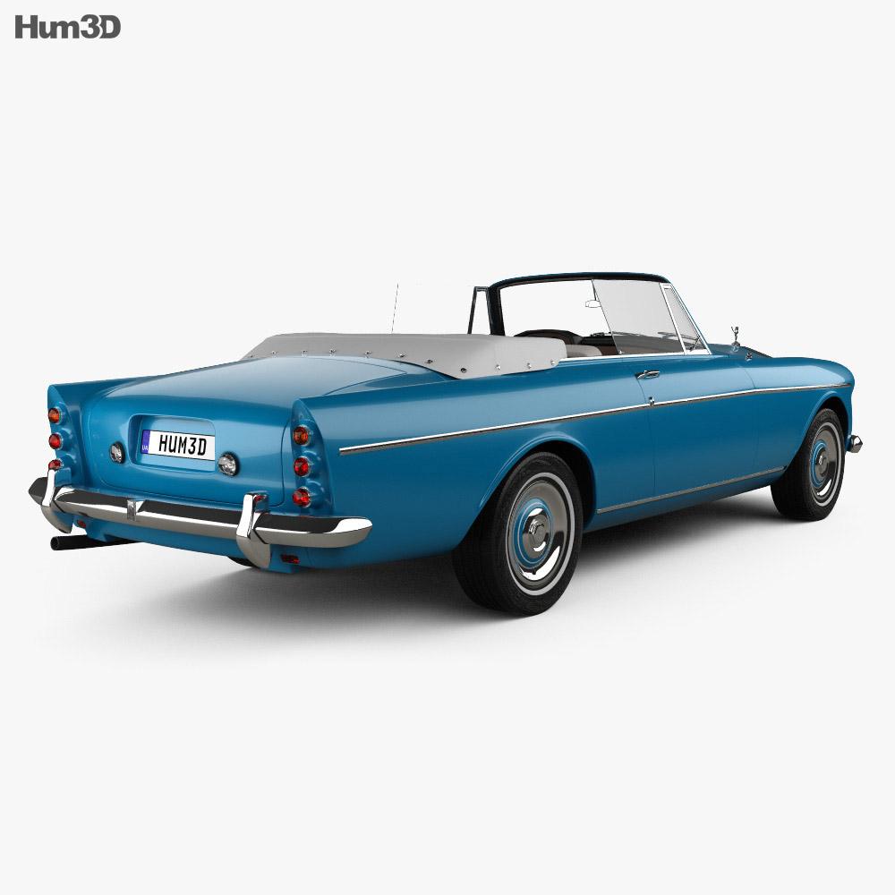 Rolls-Royce Silver Cloud III Mulliner Park Ward Drop Head Coupe 1966 3d model