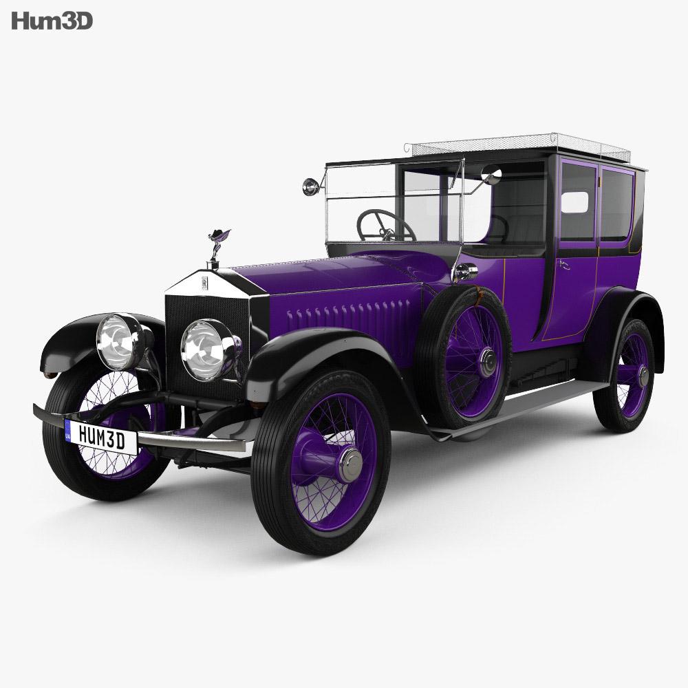Rolls-Royce Silver Ghost Nicholas II 1914 3d model