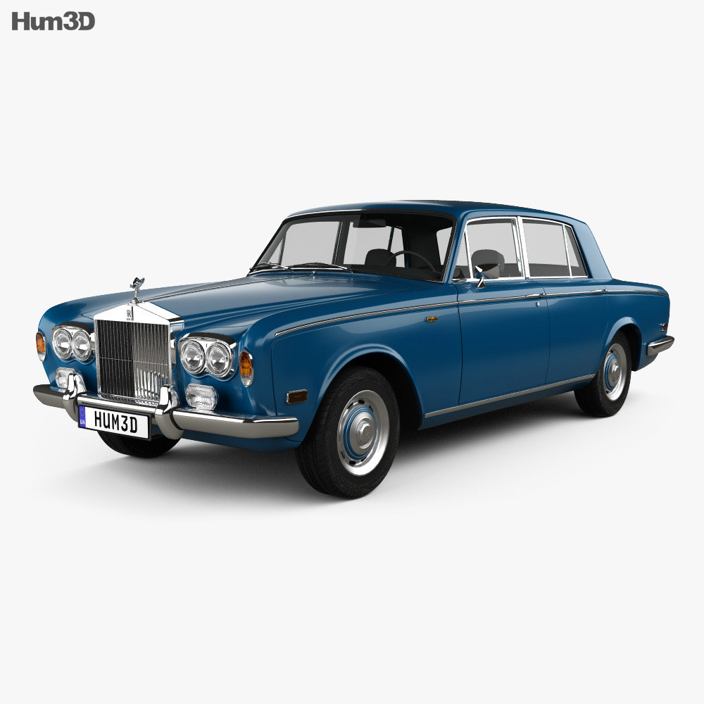 Rolls-Royce Silver Shadow 1965 3d model