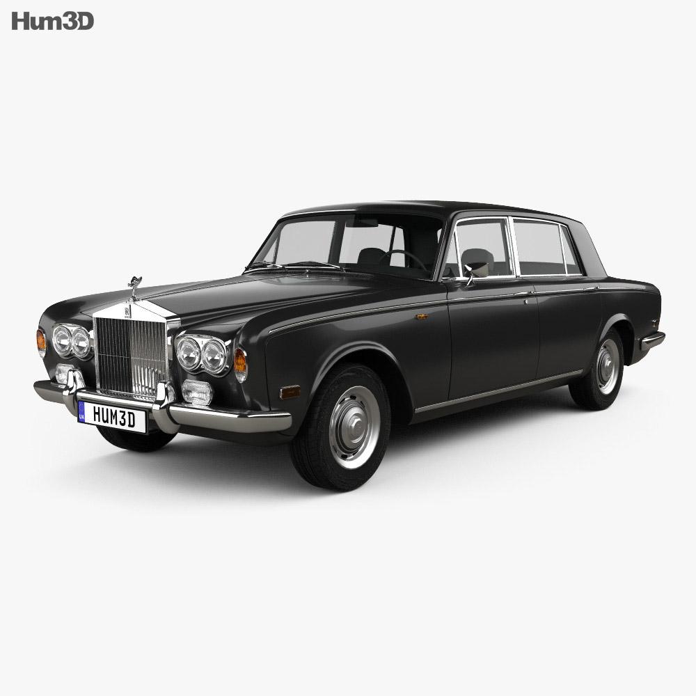 Rolls-Royce Silver Shadow LWB 1965 3d model
