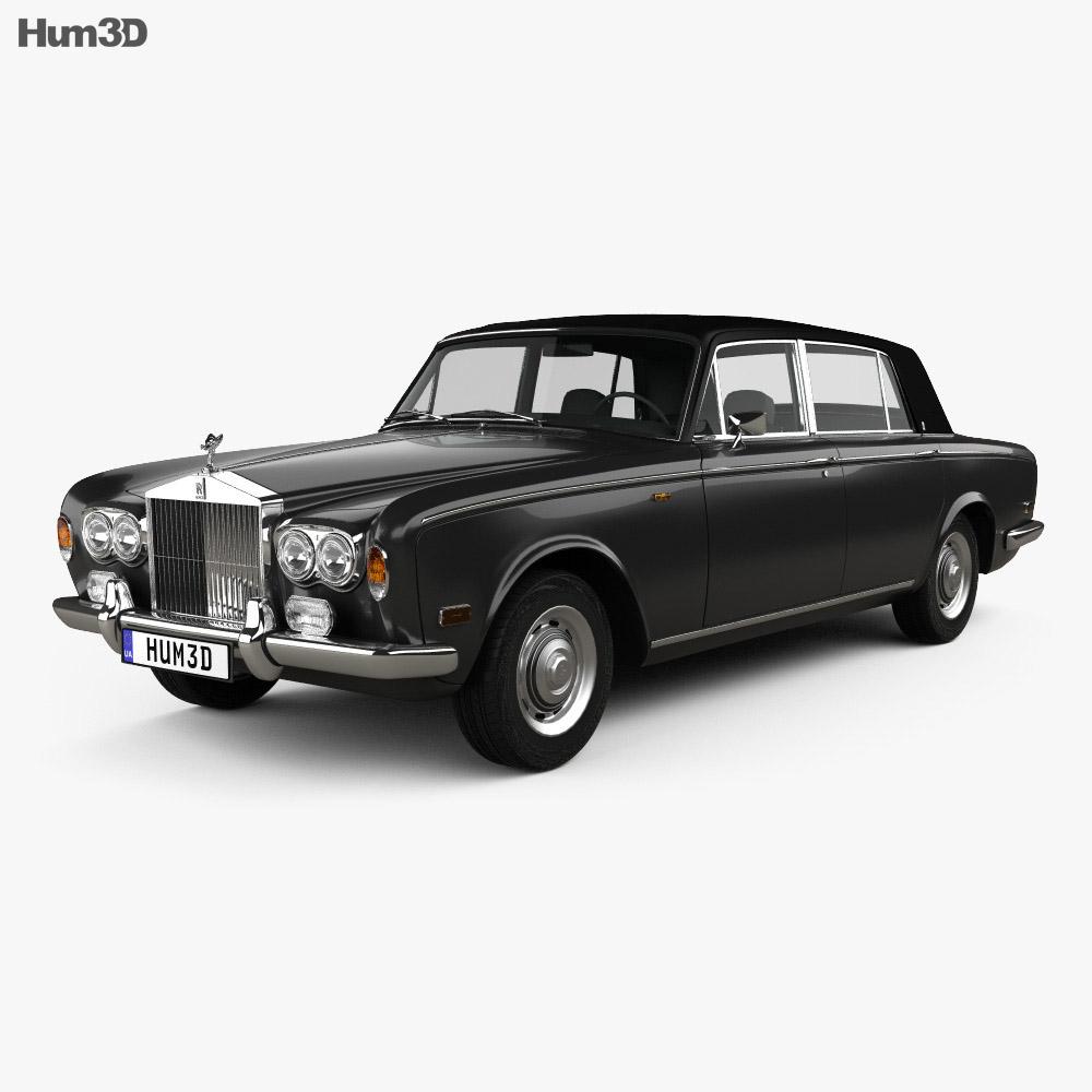 Rolls-Royce Silver Wraith LWB 1965 3d model