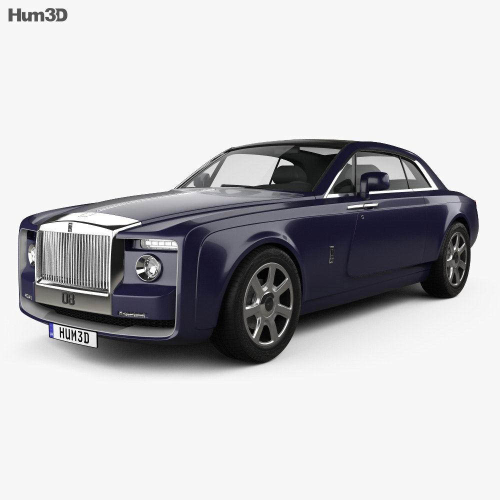 Rolls-Royce Sweptail 2017 3D Model