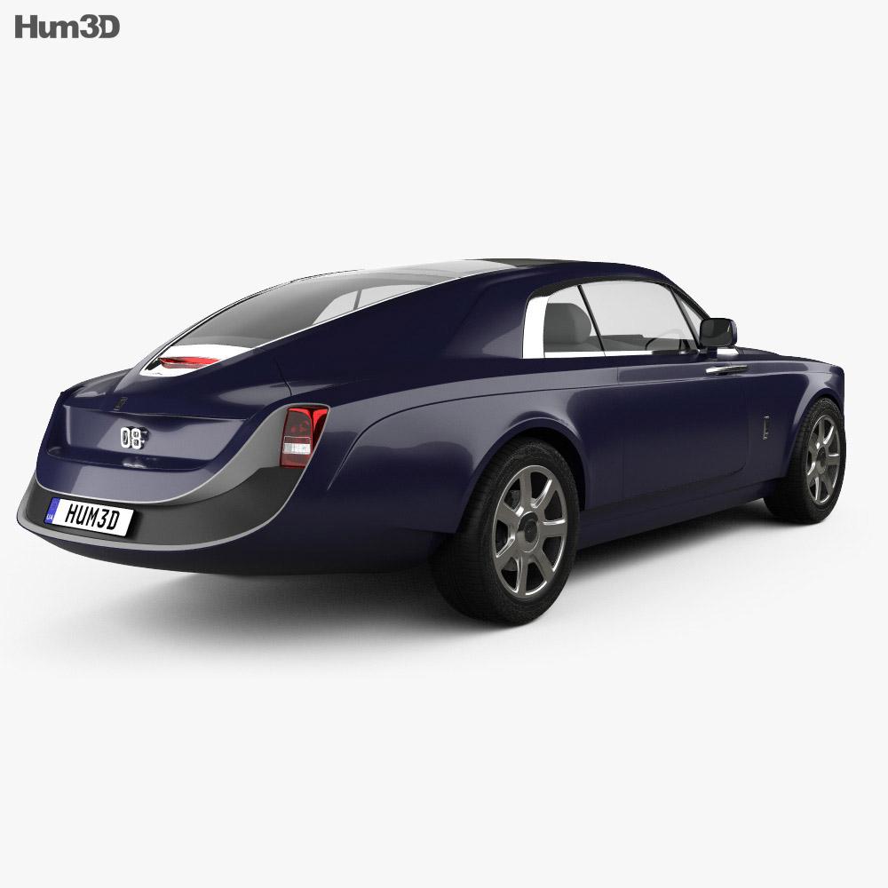 Rolls-Royce Sweptail 2017 3d model