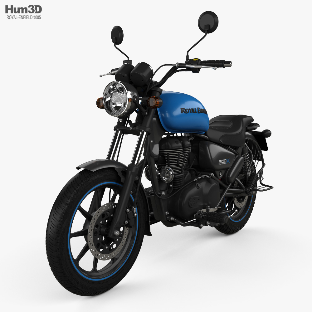 Royal Enfield Thunderbird X500 2019 3d model
