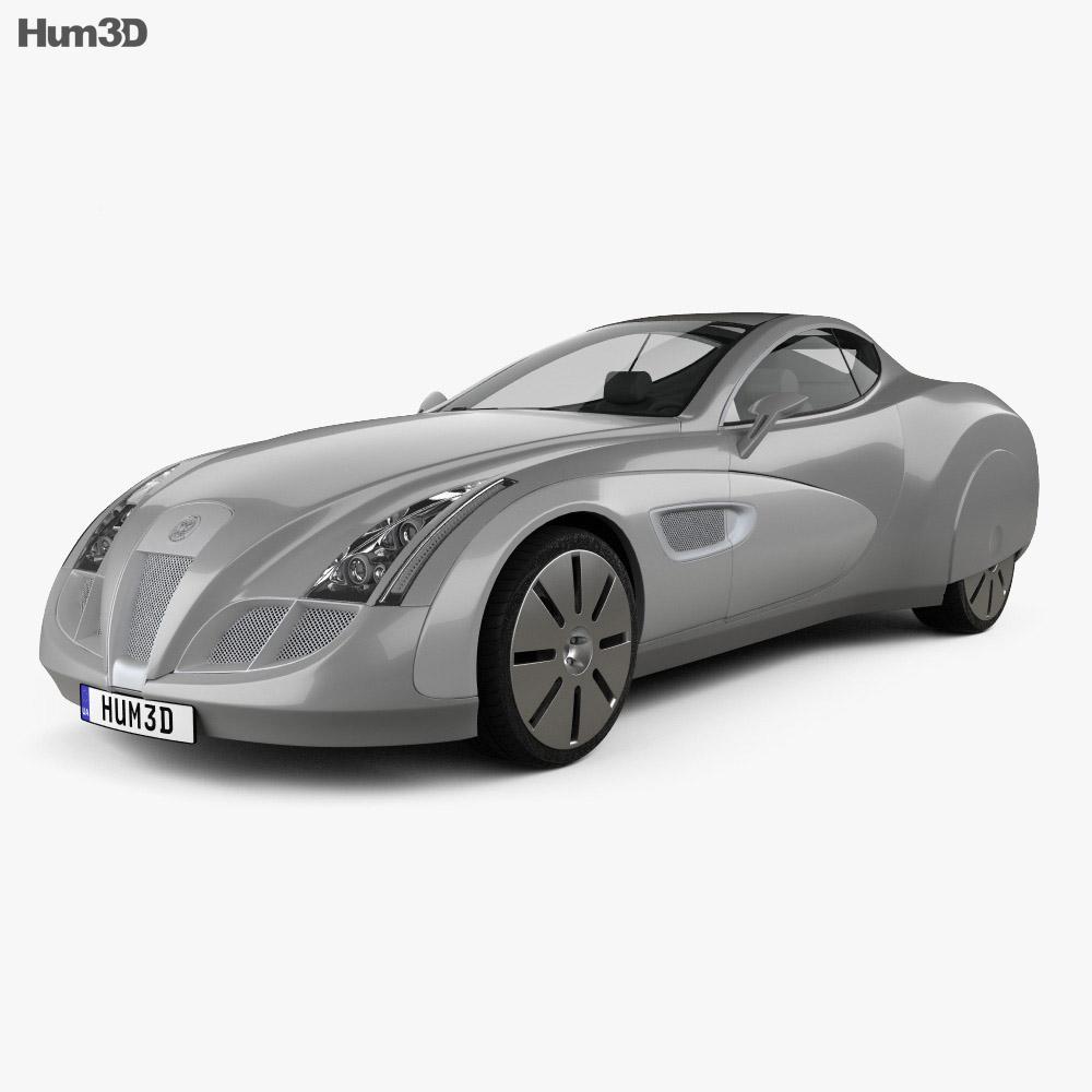 Russo-Balt Impression 2006 3d model