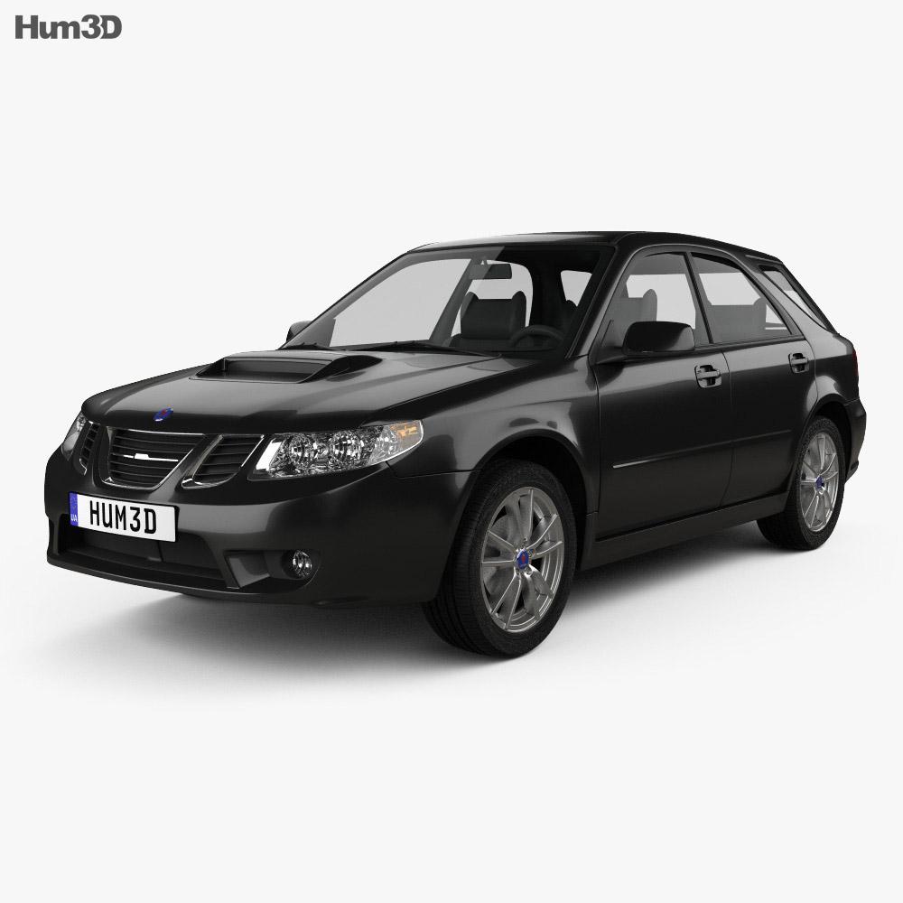 Saab 9-2X 2004 3d model