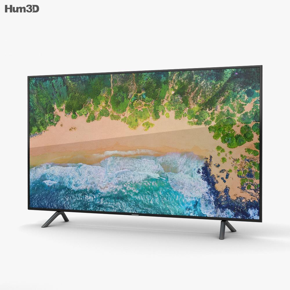 Samsung 65″ NU7100 Smart 4K TV 3d model