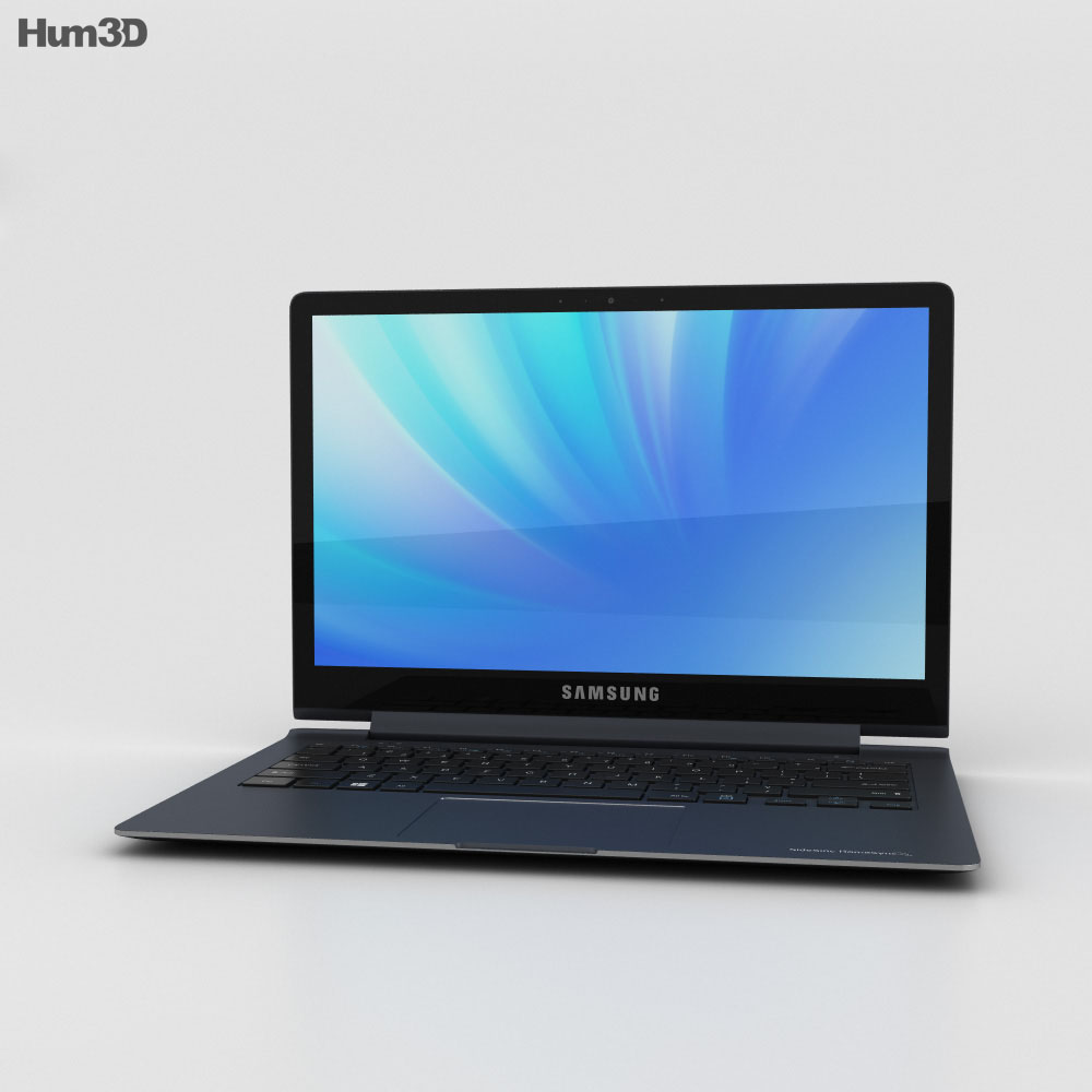 3D model of Samsung Ativ Book 9 Plus
