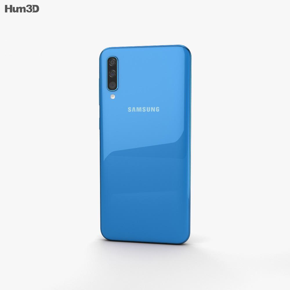 Samsung Galaxy A50 Blue 3d model