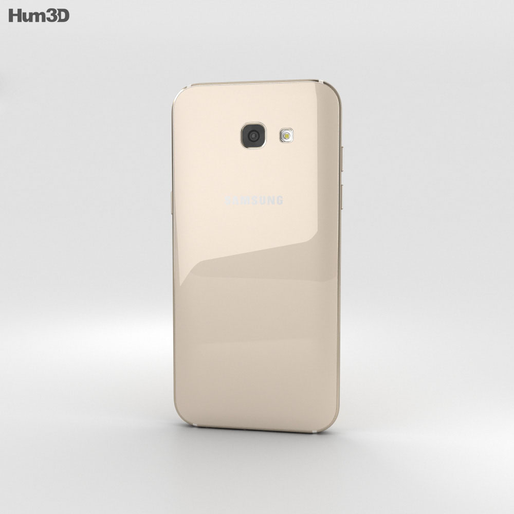 Samsung Galaxy A5 (2017) Gold Sand 3d model