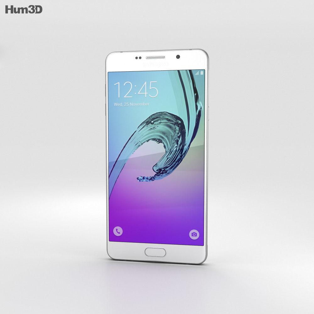 Samsung Galaxy A7 (2016) White 3d model