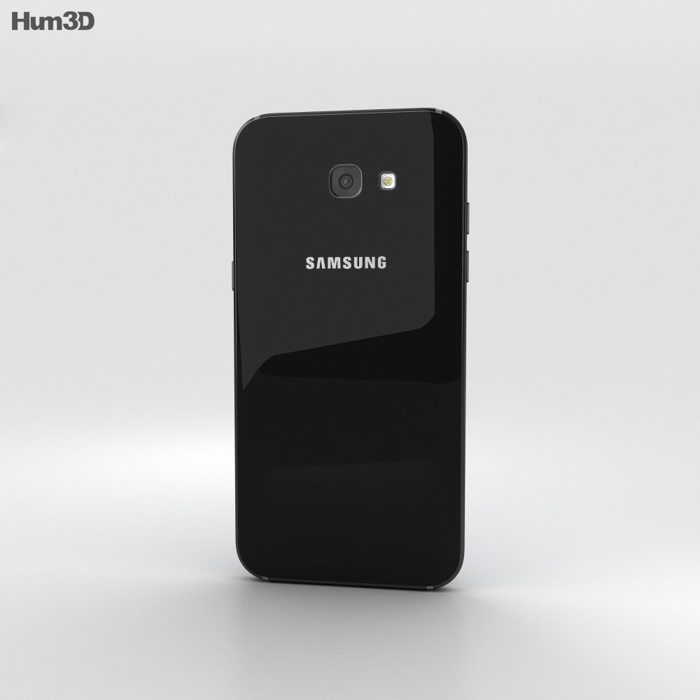 Samsung Galaxy A7 (2017) Black Sky 3d model