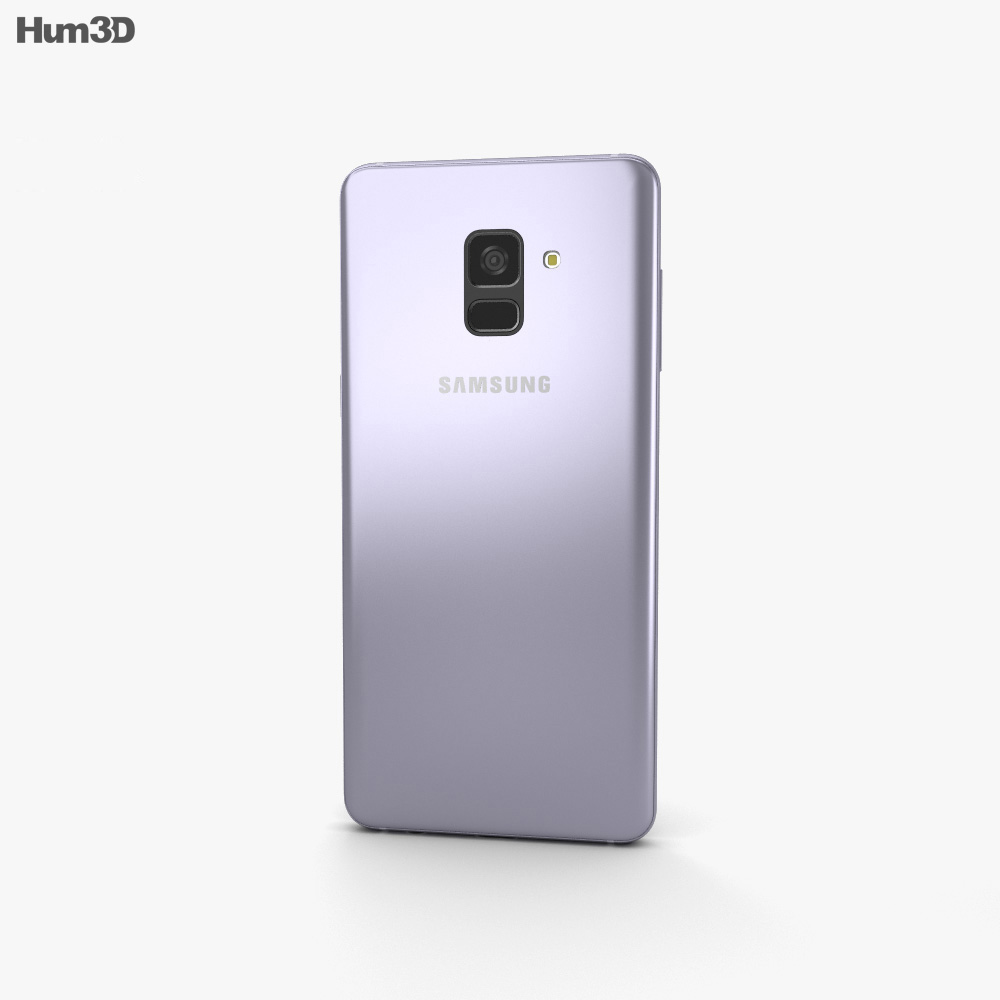 Discount Car Parts >> Samsung Galaxy A8 (2018) Orchid Grey 3D model - Hum3D