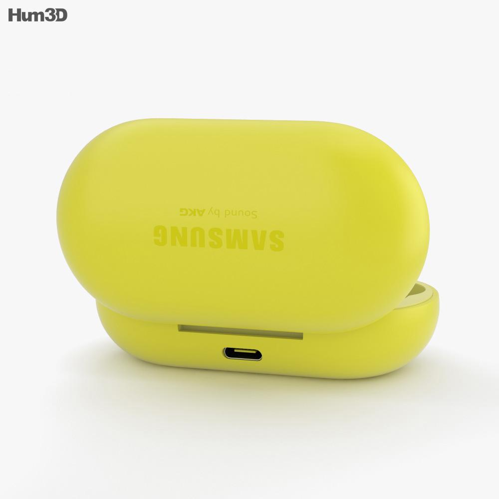 Samsung Galaxy Buds Yellow 3d model