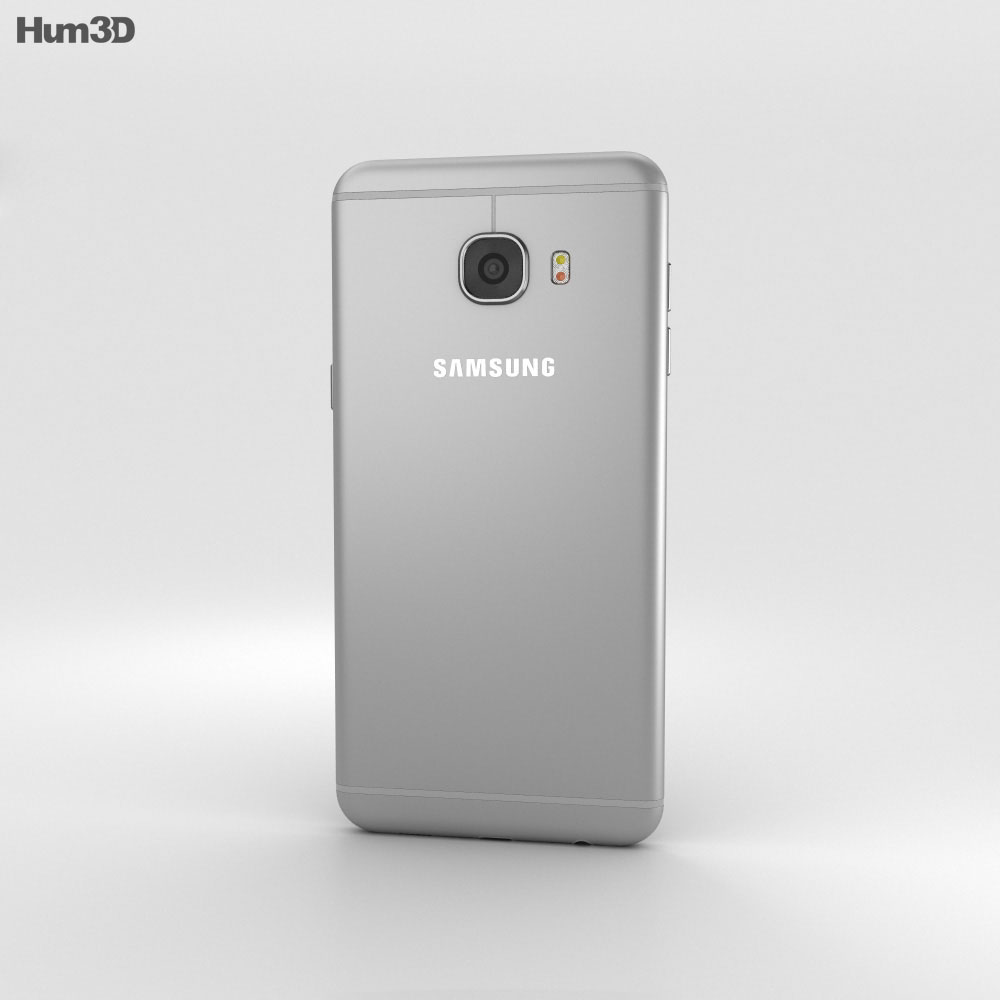 Samsung Galaxy C5 Gray 3d model