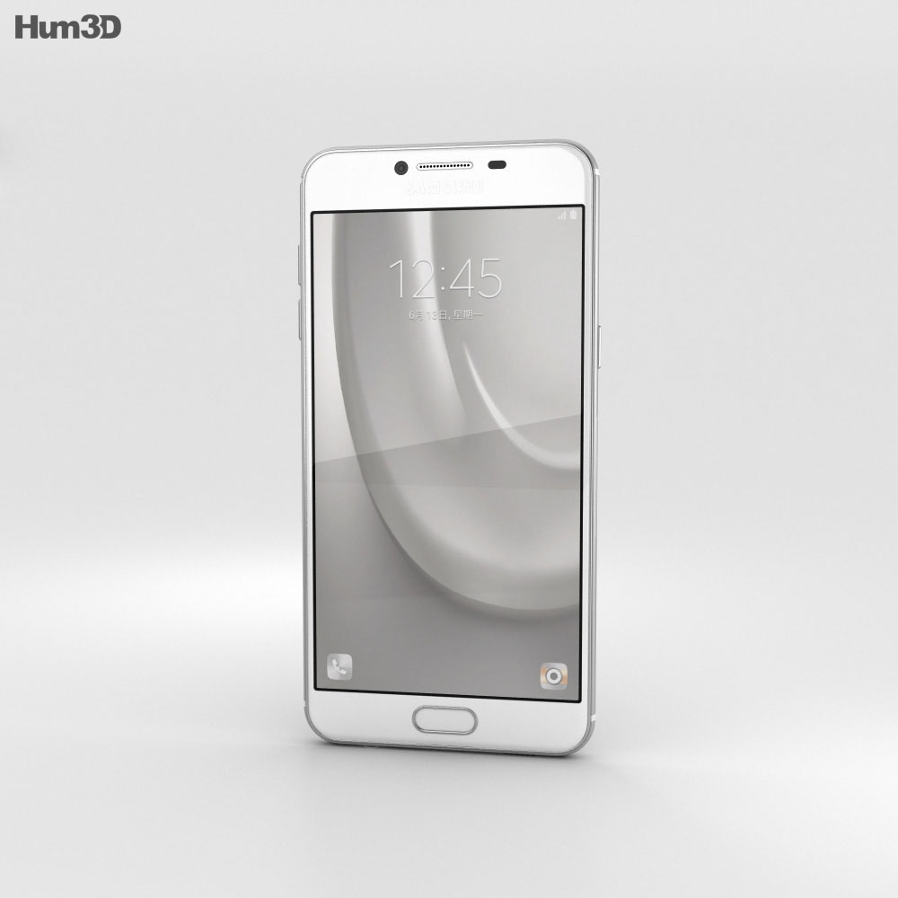 Samsung Galaxy C5 Silver 3d model