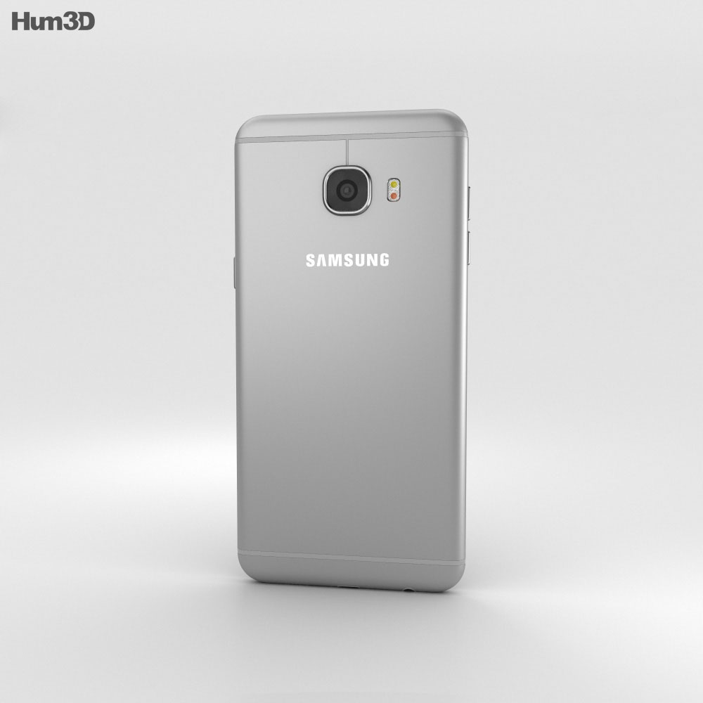 Samsung Galaxy C7 Gray 3d model