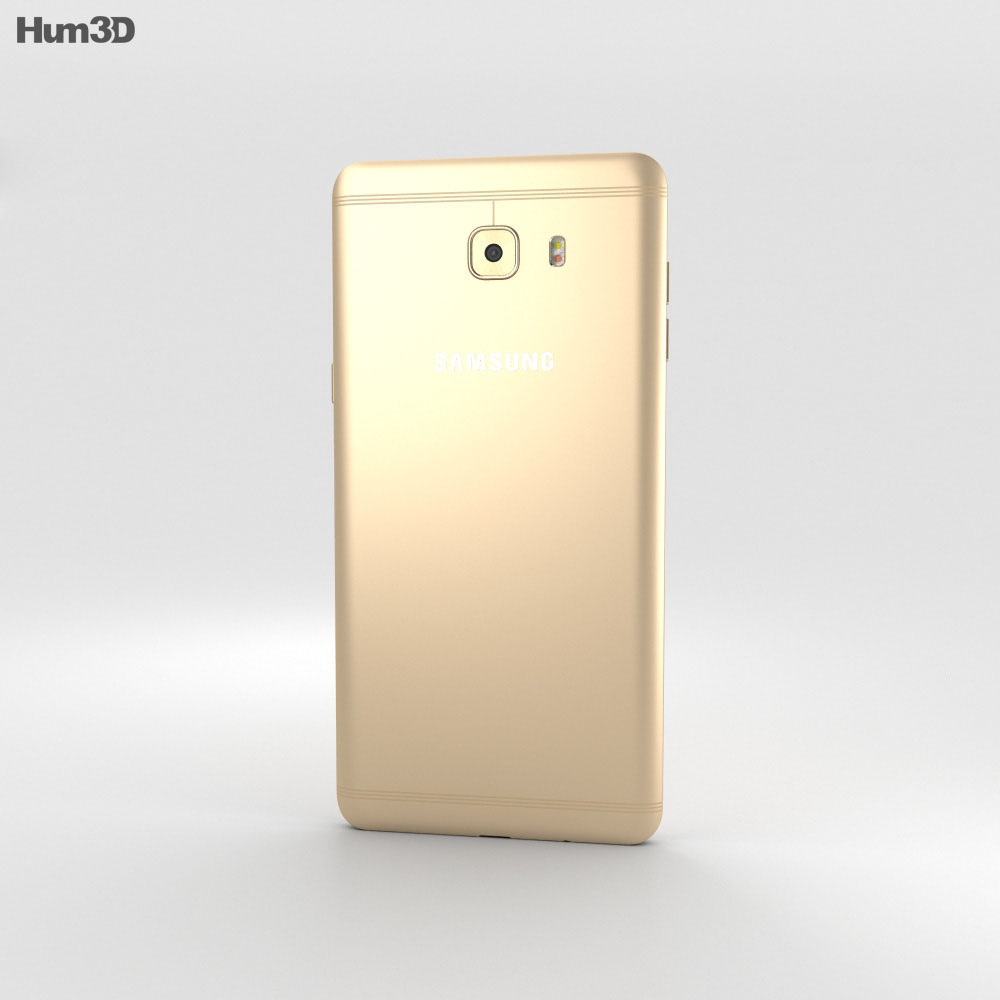 Samsung Galaxy C9 Pro Gold 3d model